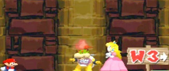Beeld getiteld Versla die baas in die laaste kasteel van die wêreld 2 as Mini Mario Stap 7