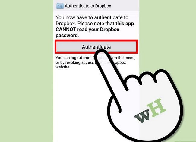 Prent getiteld Download Dropbox-lêers op Android Stap 7