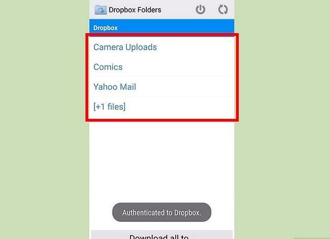 Prent getiteld Download Dropbox-lêers op Android Stap 9