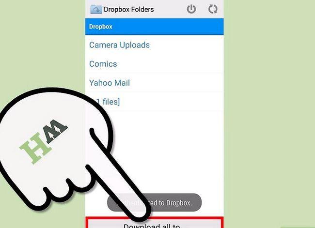 Prent getiteld Download Dropbox-lêers op Android Stap 10