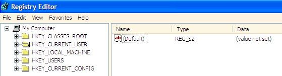 Prentjie met die titel Disable Right Click in Windows XP Stap 3