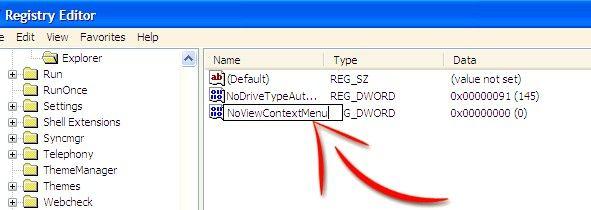 Prentjie met die titel Disable Right Click in Windows XP Stap 5