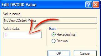 Prentjie met die titel Disable Right Click in Windows XP Stap 7