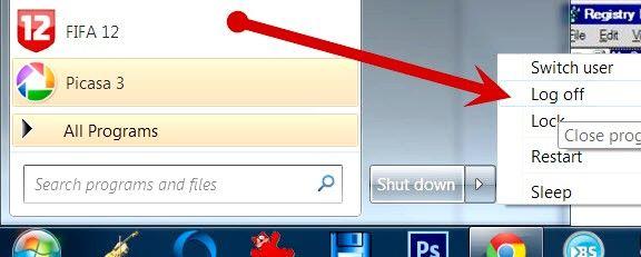 Beeld getiteld Inskakel Windows-aanmelding Screensaver Stap 1