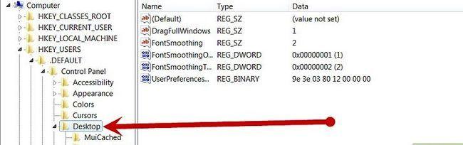 Prent getiteld Inskakel Windows-aanmelding Screensaver Stap 3