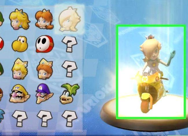 Beeld getiteld Unlock Rosalina in Mario Kart Wii Stap 4