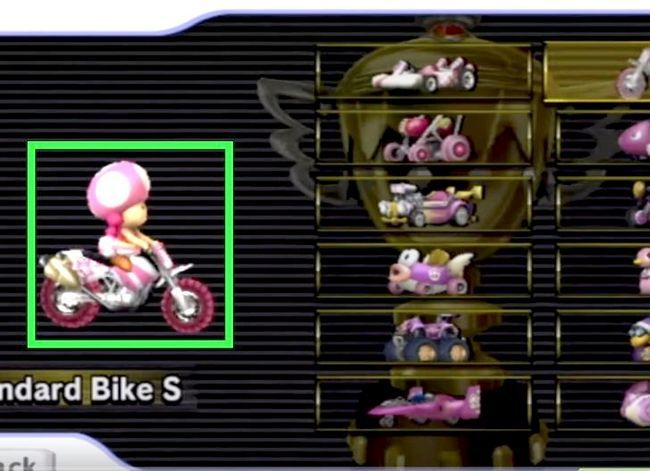 Beeld getiteld Unlock Rosalina in Mario Kart Wii Stap 6