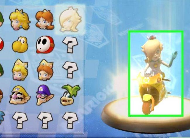 Beeld getiteld Unlock Rosalina in Mario Kart Wii Stap 8
