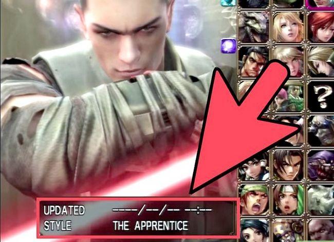 Prent getiteld Ontgrendelen alle karakters in Soul Calibur 4 Stap 1