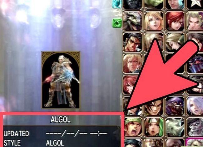 Prent getiteld Ontgrendel alle karakters in Soul Calibur 4 Stap 3