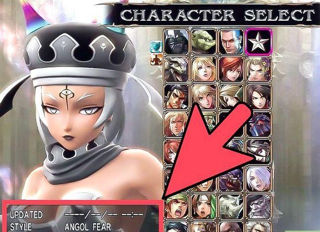 Prent getiteld Ontgrendelen alle karakters in Soul Calibur 4 Stap 4