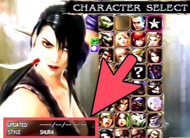 Prent getiteld Ontgrendelen alle karakters in Soul Calibur 4 Stap 5