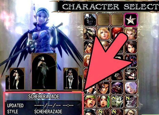 Prent getiteld Ontgrendelen alle karakters in Soul Calibur 4 Stap 6