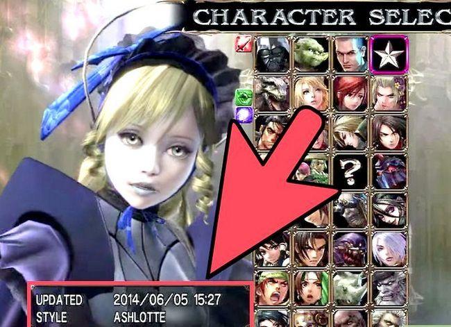 Prent getiteld Ontgrendelen alle karakters in Soul Calibur 4 Stap 7