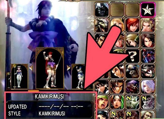 Prent getiteld Ontgrendelen alle karakters in Soul Calibur 4 Stap 8