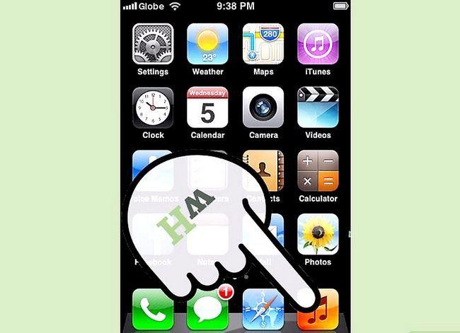 Prentjie-titel Aflaai iTunes-aankope na `n iPhone Stap 12