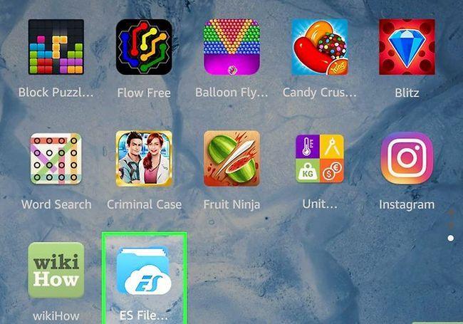 Prent getiteld Laai die Google Play App Store Stap 8 af