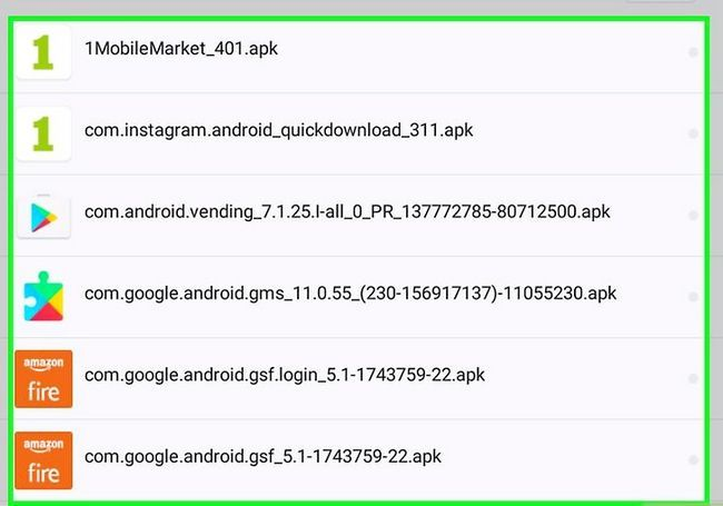 Prent getiteld Laai die Google Play App Store Stap 9 af