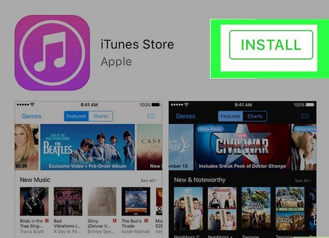 Prent getiteld Download iTunes Stap 12