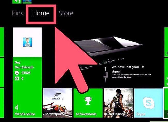 Prent titel Get Download Games in die agtergrond (terwyl Xbox is af) Stap 1