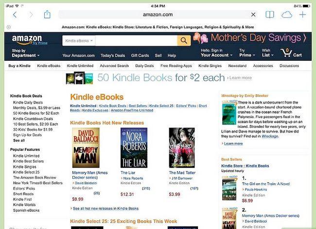 Prent getiteld Download Kindle Books op `n iPad Stap 11