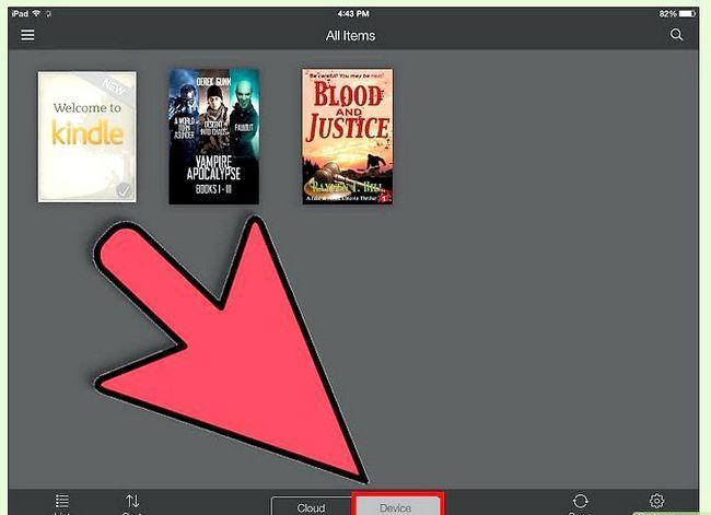 Prent getiteld Download Kindle Books op `n iPad Stap 17