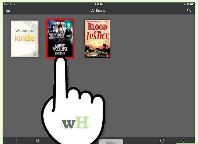 Prent getiteld Download Kindle Books op `n iPad Stap 18