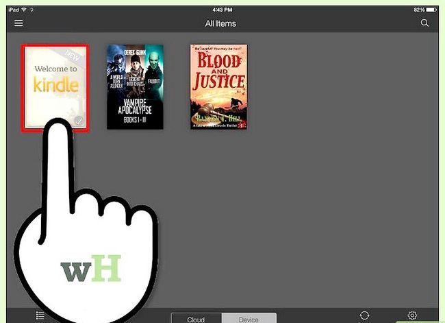 Prent getiteld Download Kindle Books op `n iPad Stap 19
