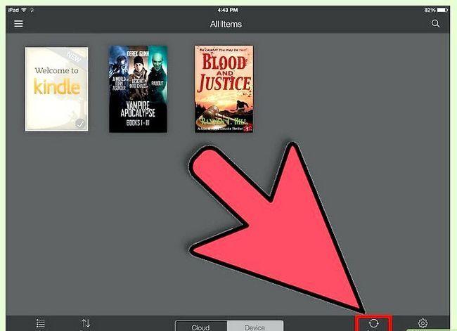 Prent getiteld Download Kindle Books op `n iPad Stap 21