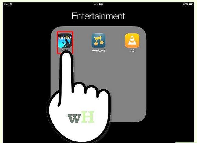Prent getiteld Download Kindle Boeke op `n iPad Stap 4