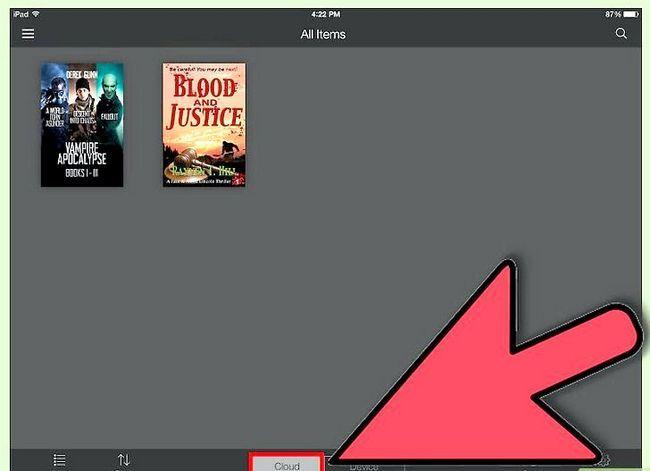 Prent getiteld Download Kindle Boeke op `n iPad Stap 6