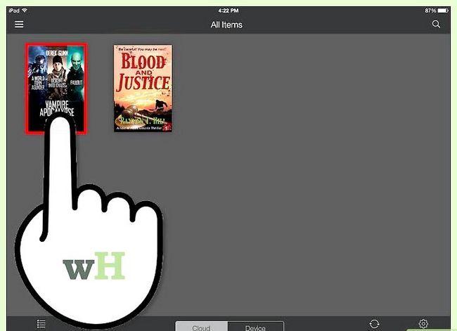 Prent getiteld Download Kindle Books op `n iPad Stap 7