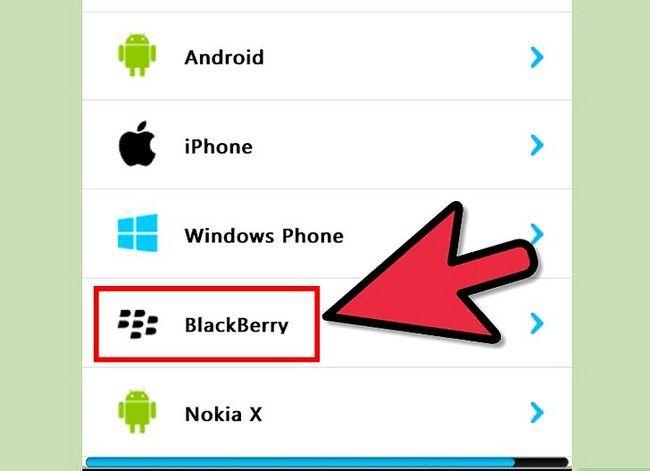 Prent getiteld Skype aflaai op BlackBerry Stap 5