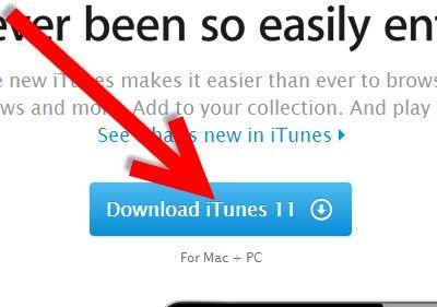 Prent getiteld Laai en laai liedjies vanaf iTunes Stap 3