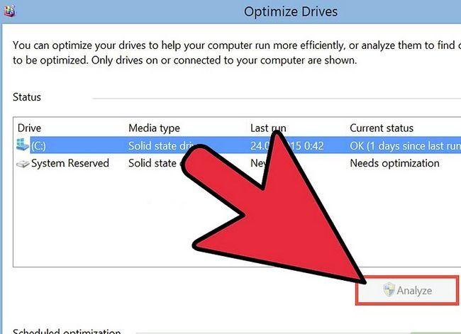 Prent getiteld Defrag Windows 8 Stap 4
