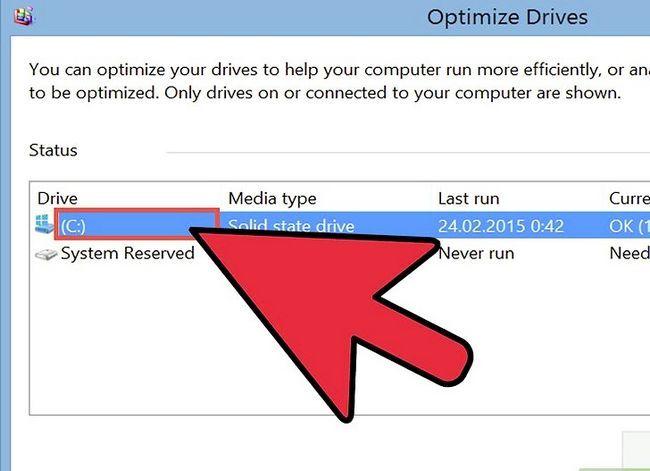 Prent getiteld Defrag Windows 8 Stap 6