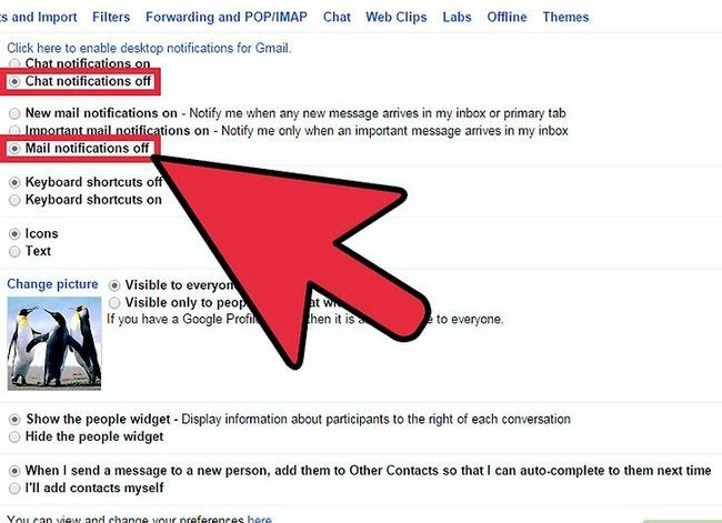 Prent getiteld Geskakel Gmail Desktop Notifications Stap 3