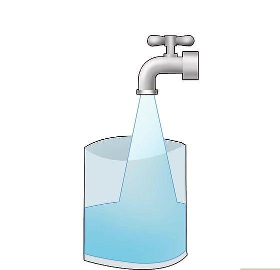 Prent getiteld 02 plaas kraanwater Stap 02