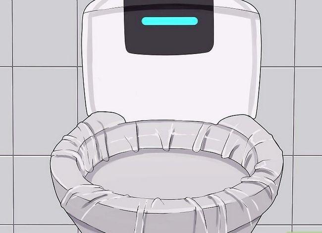 Beeld getiteld Sanitize a Public Toilet Stap 2
