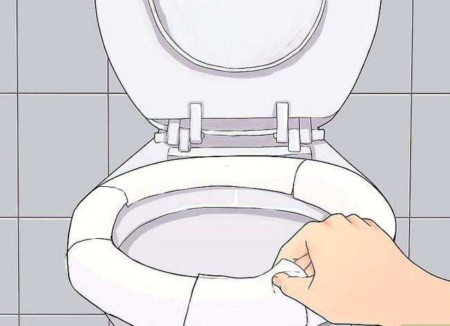 Beeld getiteld Sanitize a Public Toilet Stap 3