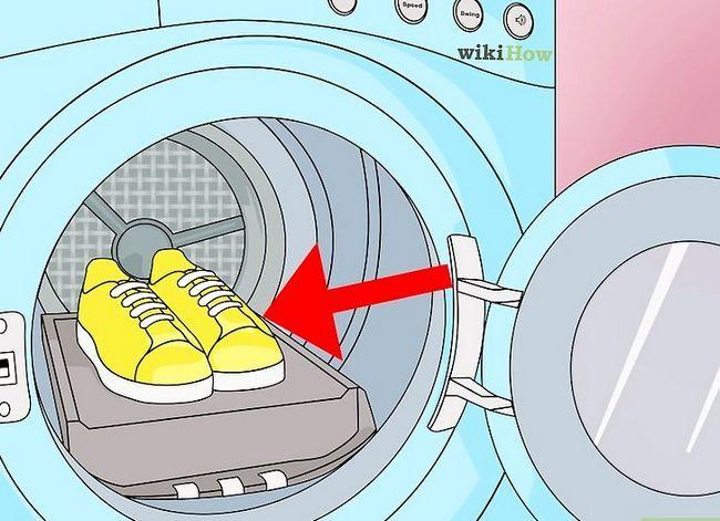Prent Titel Disinfectie Gebruikte Skoene Stap 2