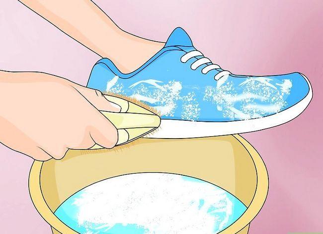 Prent Titel Disinfectie Gebruikte Skoene Stap 3