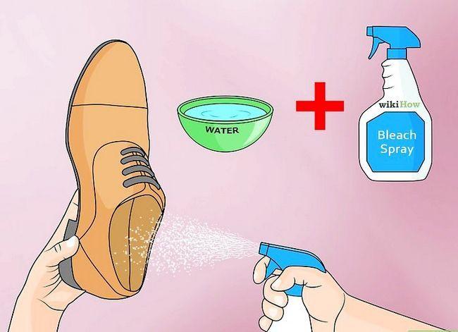 Prent Titel Disinfectie Gebruikte Skoene Stap 5