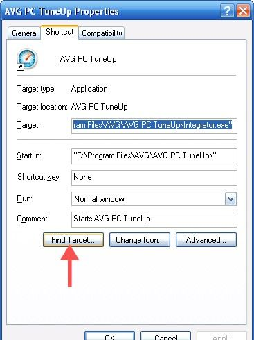 Beeld getiteld Verwyder AVG PC Tuneup Stap 1Bullet2