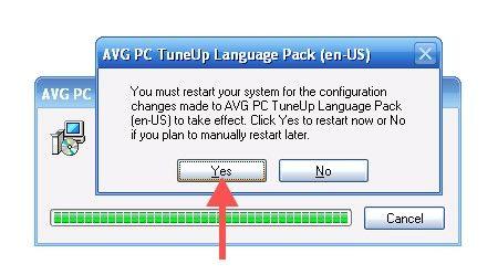 Beeld getiteld Verwyder AVG PC Tuneup Stap 5