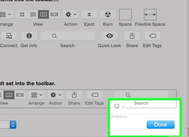 Prent getiteld Dropbox verwyder vanaf `n Mac Stap 14