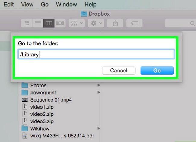 Prent titel Verwyder Dropbox van `n Mac Stap 7