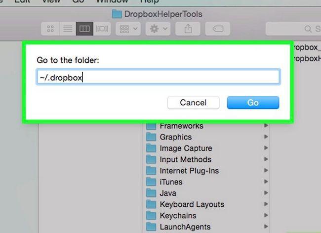 Prent getiteld Dropbox verwyder vanaf `n Mac Stap 10
