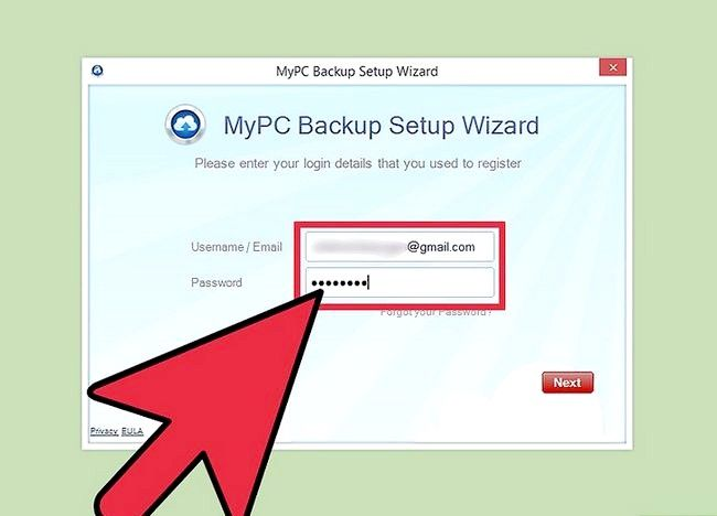 Prent getiteld Uninstall MyPC Backup Stap 2