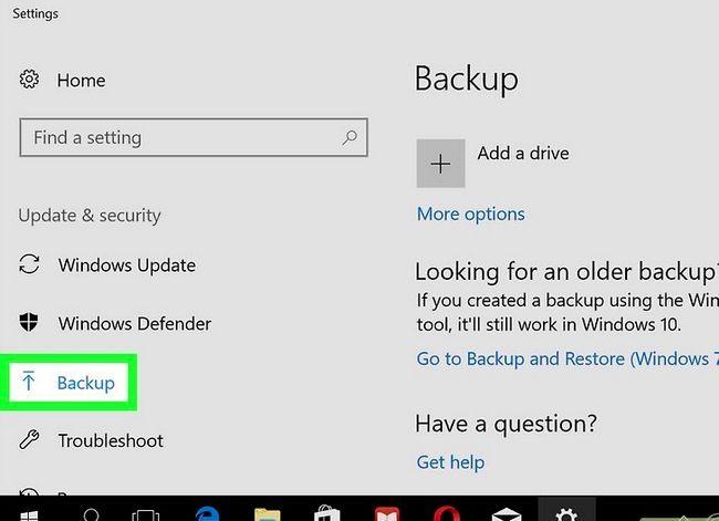 Prent getiteld Verwyder Windows 8.1 Stap 1